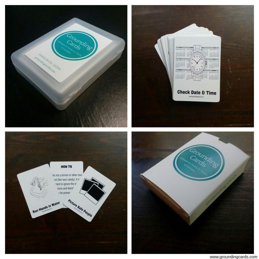 grounding technique cards