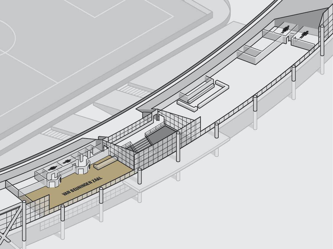 plattegronden stadion feijenoord