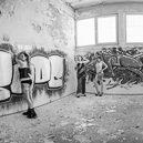Lost Place, Graffiti Panorama