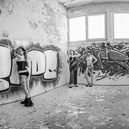 Lost Place, Graffiti Panorama