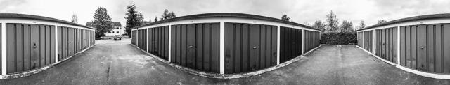 Panorama Garagenverein Pirna