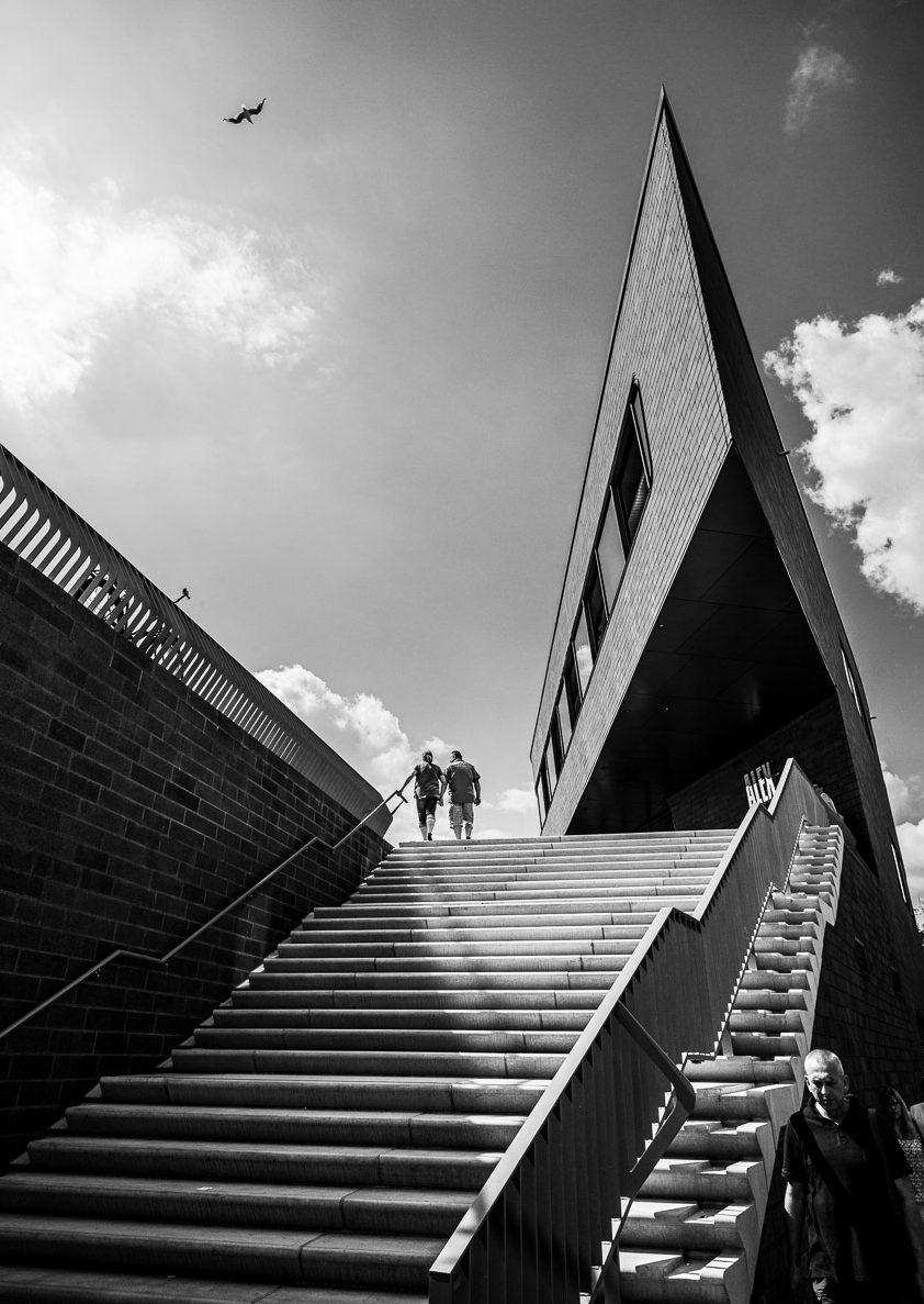 Treppe nach oben