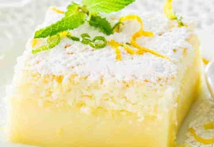Lemon Magic Cake Jo Cooks