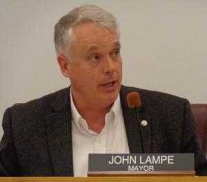 Mayor John Lampe Will Not Seek Second Term