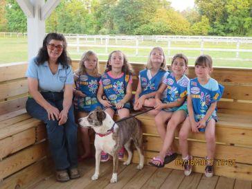 Girl Scouts Ruf Creek 2 6-12-15