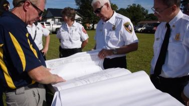 Four Oaks EMS Ground Breaking 2