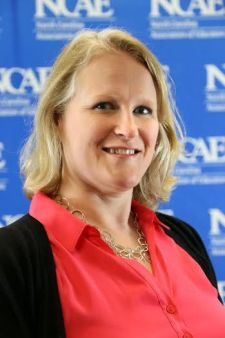 South Johnston High School English teacher Heather Ribar completes North Carolina Educator's Association first Instructional Leadership Institute.