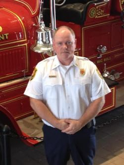 John Blanton has been serving as Intern Smithfield Fire Chief following the retirement of former Chief Patrick Harris on July 1st