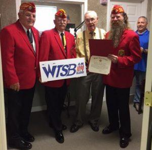 WTSB Marine League Award