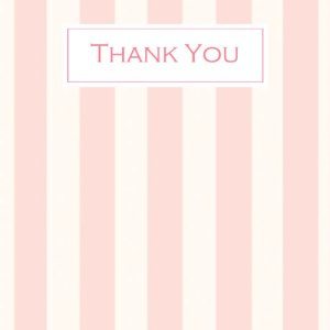 Adult Thank You's - 8 postcards with envelopes - £3.99