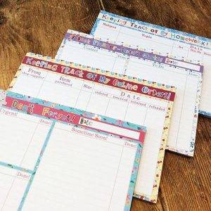 A5 - Desk Planners to get you really organised! - £3.99