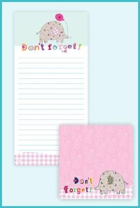 Magnetic Jotter Pad with Matching Sticky pad £4.99