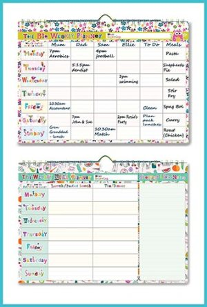 A4 Wall Planners - Invaluable aids for a busy household or person - £8.00