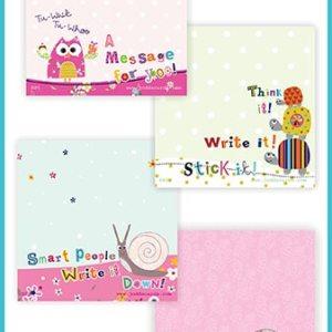 Sticky Note pads - Quadruple packs - £7.99