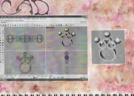 Rattle Ring CAD development
