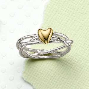 Lucky in Love Ring by Pia