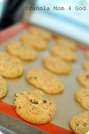 sprouted chocolate chip cookies