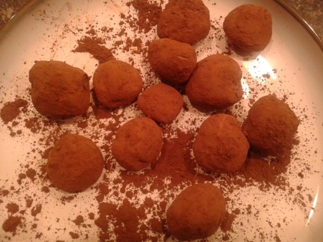 Homemade Chocolate Truffles 8
