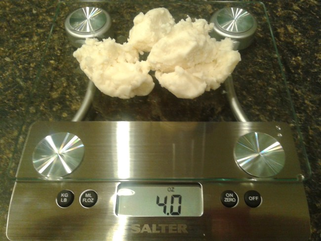 shea butter 4 ounces for homemade body lotion