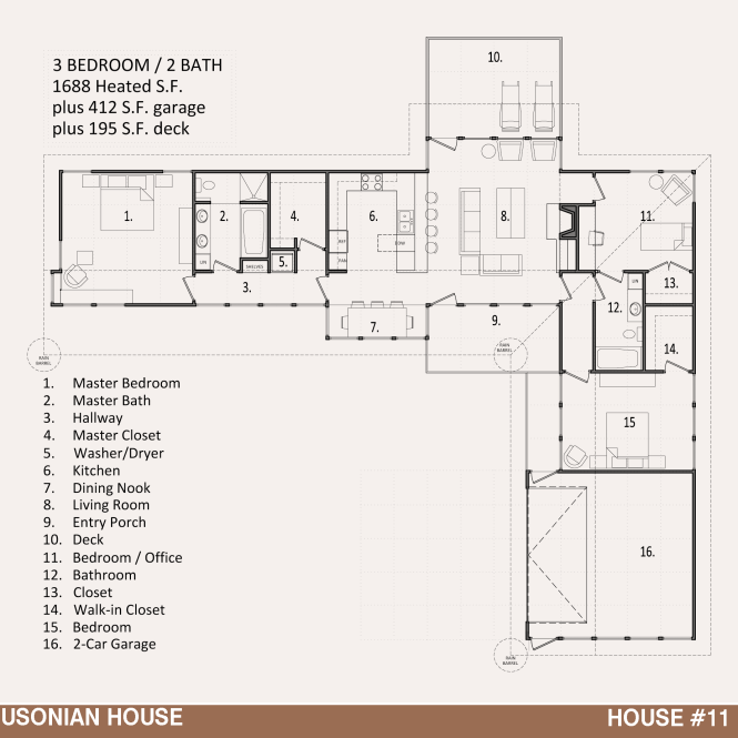 usonian style house plans | amazing house plans