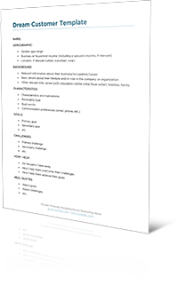 Customer demographics cover aspects such as age range, customer income, educational backgrounds, and gender. Dream Customer Profile Template Free Download Jody Hatton