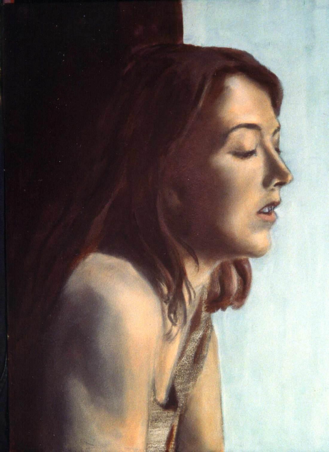 Peering Woman