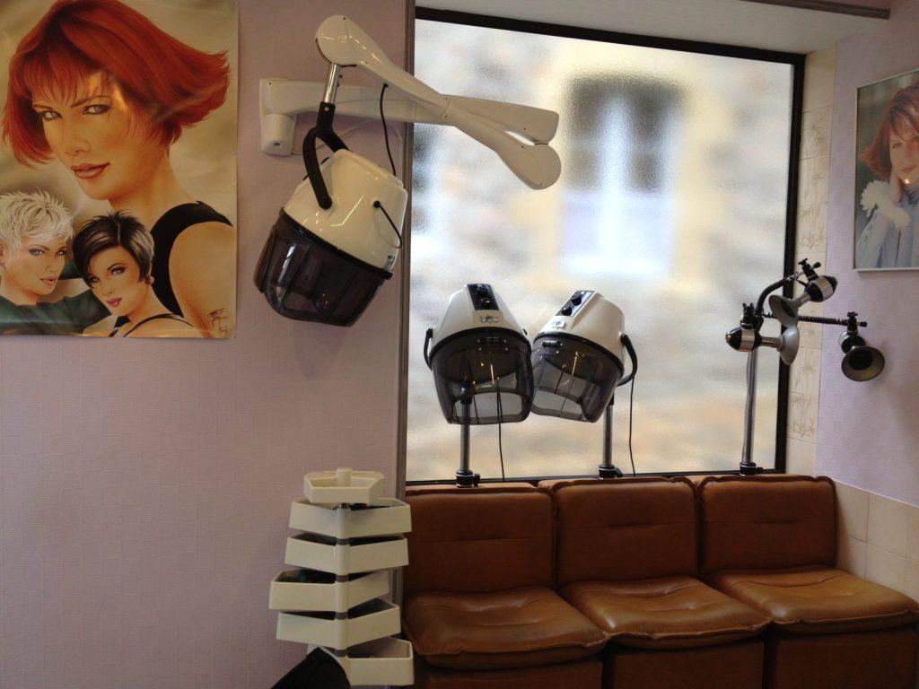 french hair salon.
