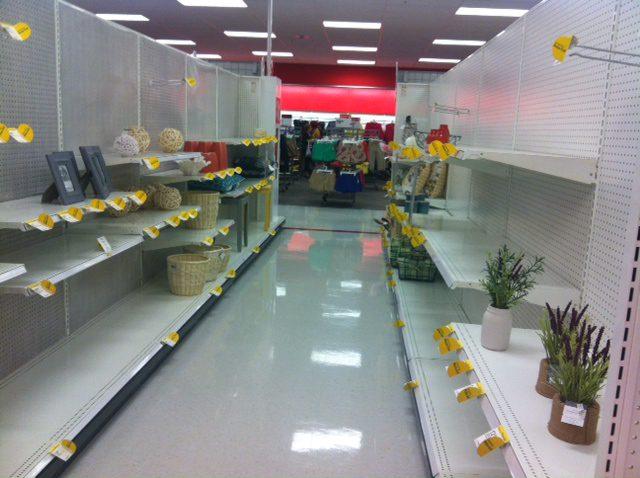 Empty Store Aisle