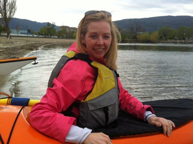Hoodoo Adventures Kayak on Penticton Beach