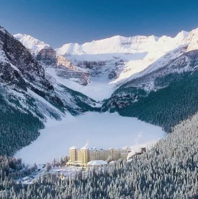 Winter at Fairmont Chateau Lake Louise