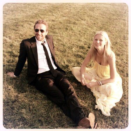 Goop image Gwyneth and Chris