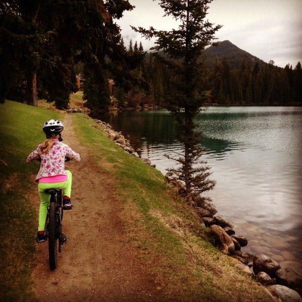 Lake Beauvert bike ride