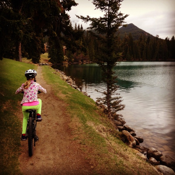 Lake Beauvert bike ride