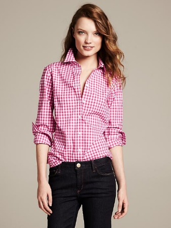 Banana Republic gingham top