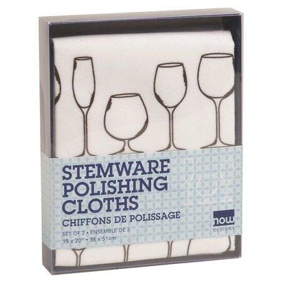 stemware polishing cloths