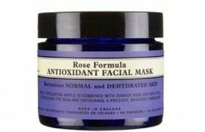 organic facial mask