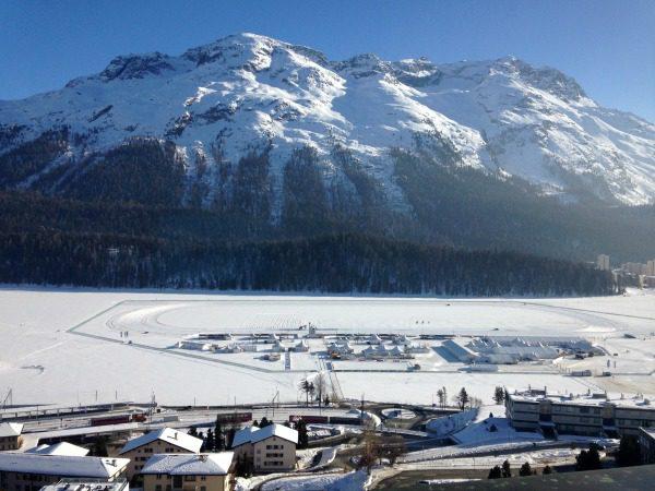 St. Moritz winter