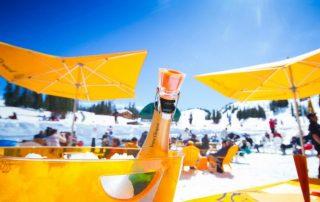 champagne ice bar