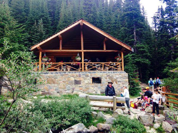 mountain tea house