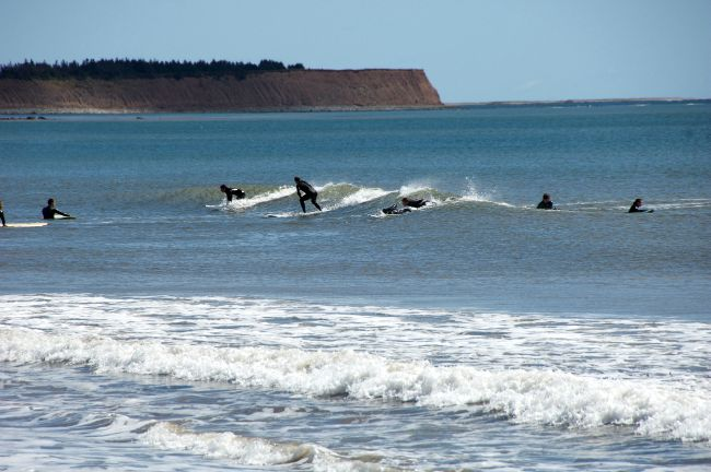 surfing in Canada