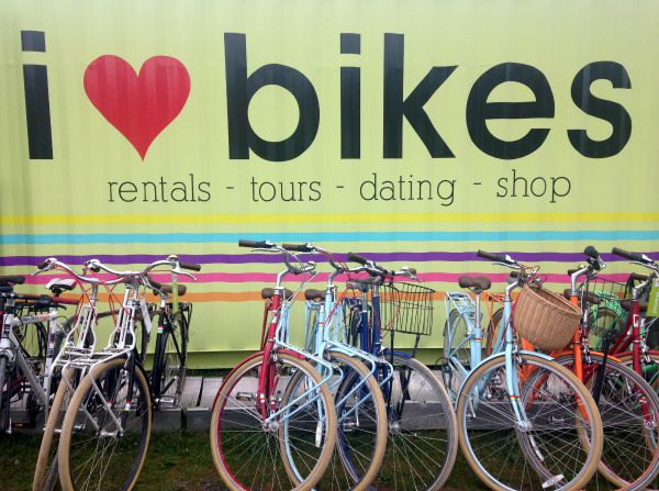 I heart bikes tour halifax
