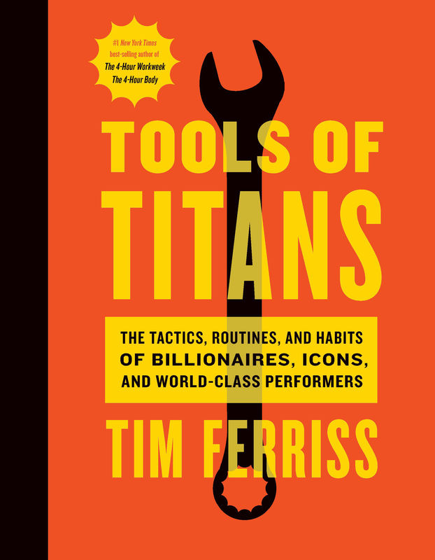 tools of titans cover
