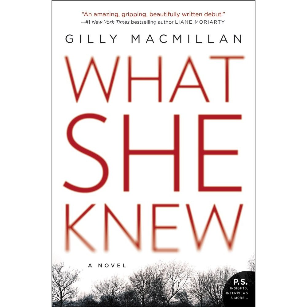 What she knew book cover