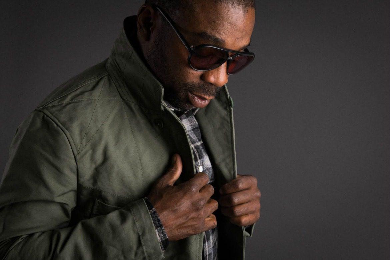 black man rocking sunglasses