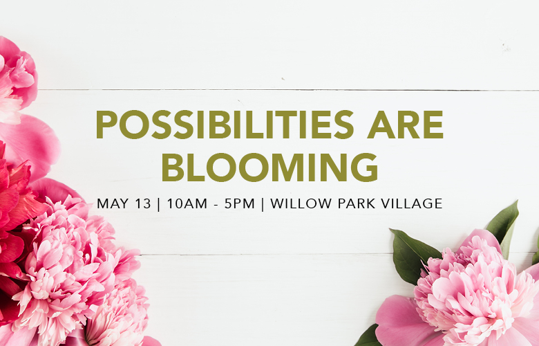 possibilities are blooming