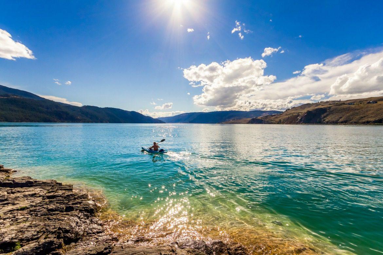 Lake Kalamaka kayak