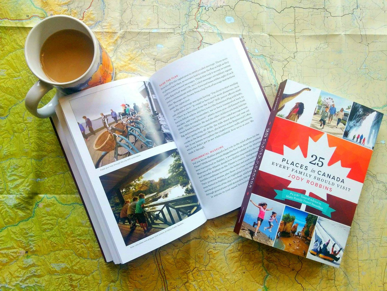 canada travel book