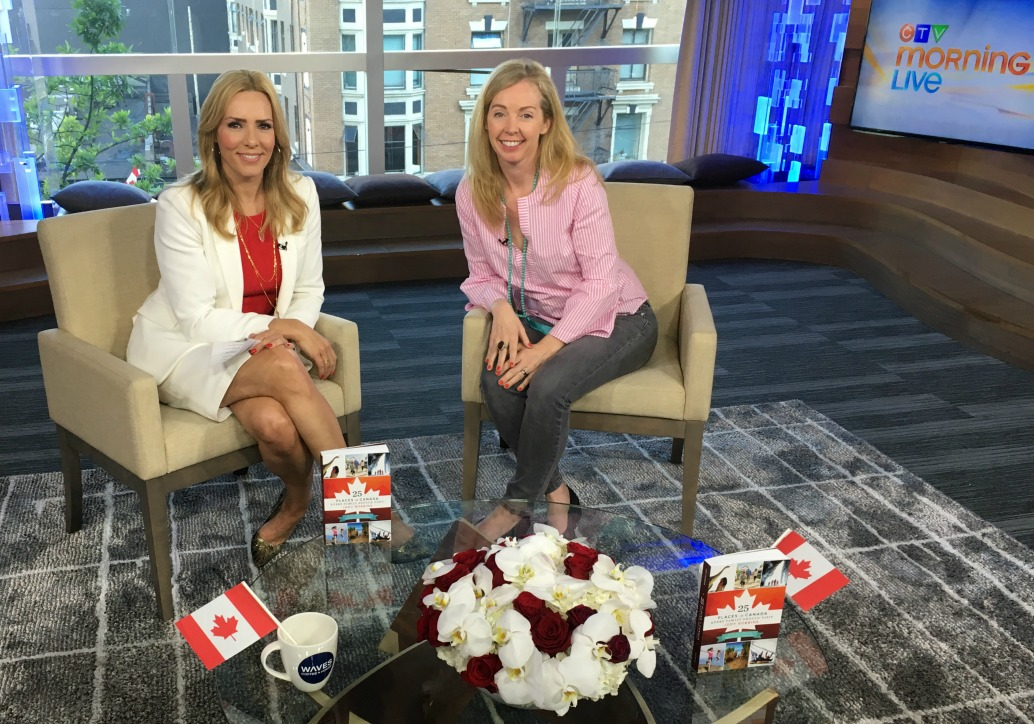 Guest on morning TV show