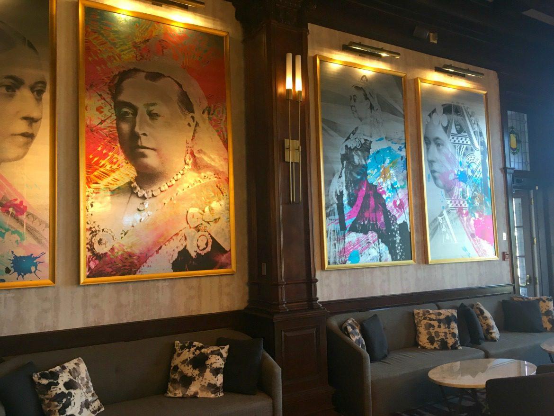 queen victoria pop art