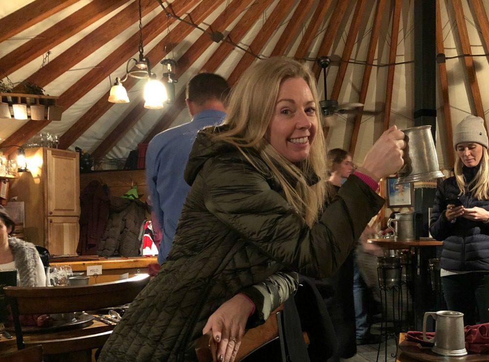 Viking yurt apres ski